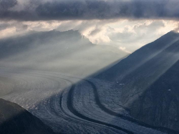 Aerial: Glaciers